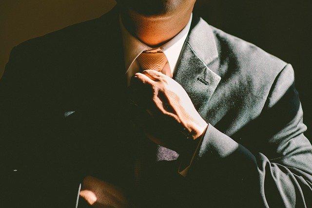 úprava kravaty