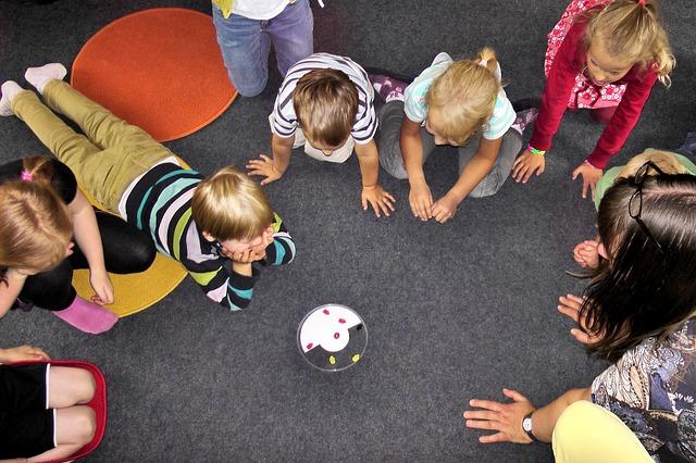 hra ve školce
