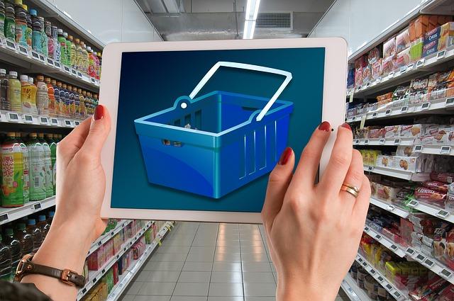 sklad supermarketu