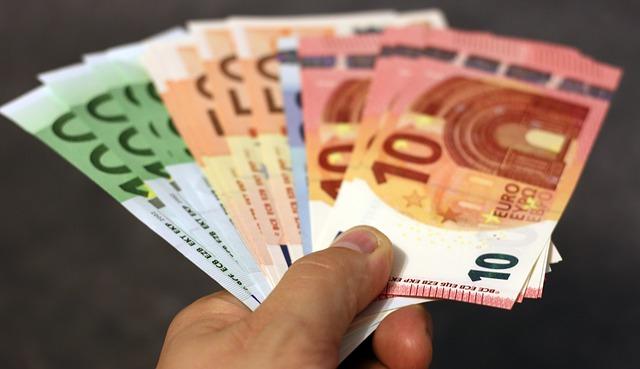 zelená bankovka