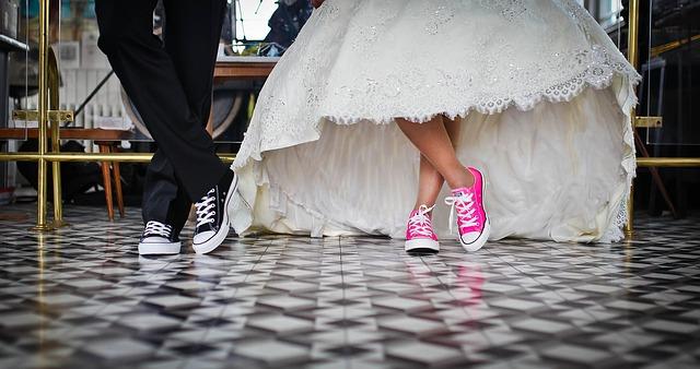 tenisky novomanželů