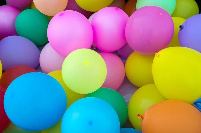 nafouknuté balonky