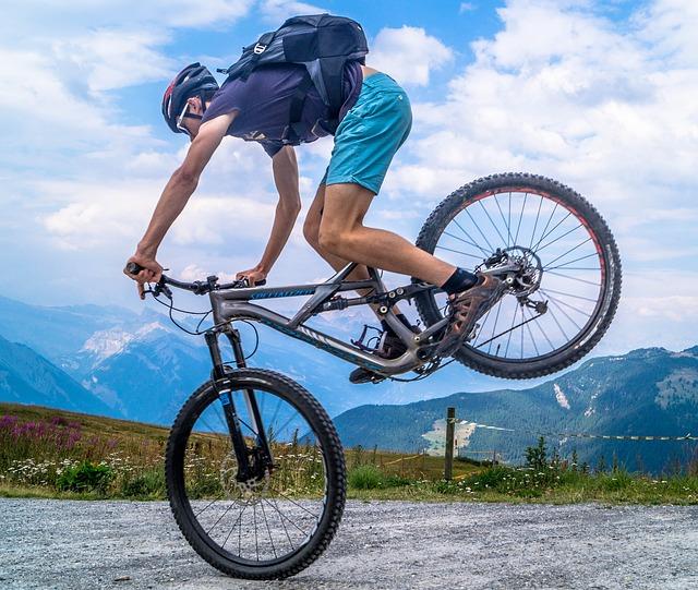 biker na kole