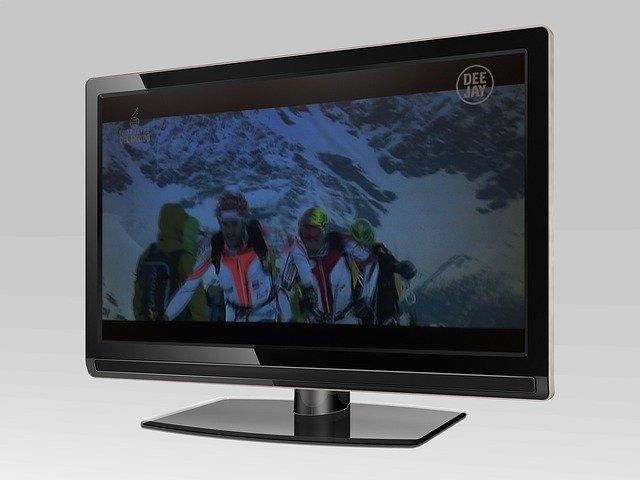 obrázek na monitoru